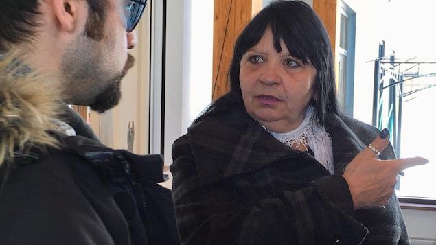 La superviseure et intervenante de l'organisme Chez Willie à Val-d'Or, Carole Marcil.