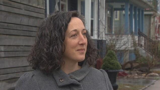 Caroline Arsenault, une résidente d'Halifax.