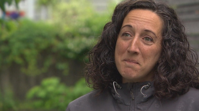 Caroline Arsenault, présidente de la Fédération des parents acadiens de la Nouvelle-Écosse