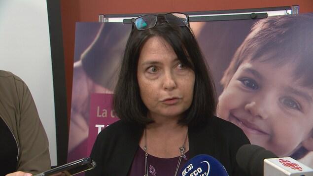 Caroline Brown, directrice de la DPJ de Chaudière-Appalaches.
