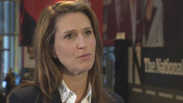 Caroline Mulroney, candidate à la direction du Parti progressiste-conservateur de l'Ontario