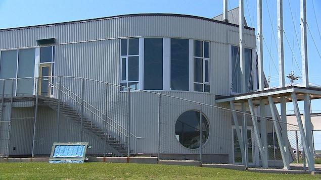Le Carrefour national de l'aquaculture et des pêches (CANAP) de Grande-Rivière (façade)