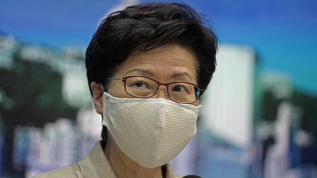 Carrie Lam, cheffe du gouvernement local de Hong Kong