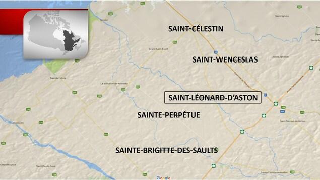 La clinique médicale de Saint-Léonard d'Aston attire des patients de plusieurs municipalités avoisinantes.
