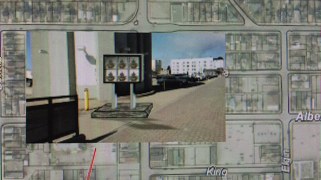Sur une carte du centre-ville, un exemple du nouveau concept.