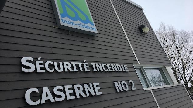 La caserne numéro 2 du service incendie de la Ville de Trois-Rivières.