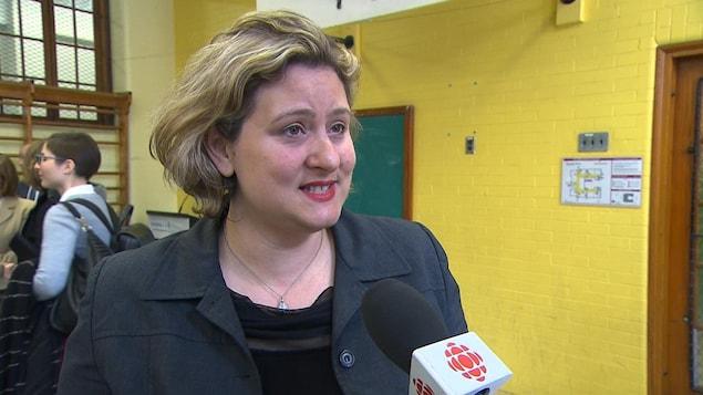 Catherine Harel-Bourdon, présidente de la Commission scolaire de Montréal (CSDM)