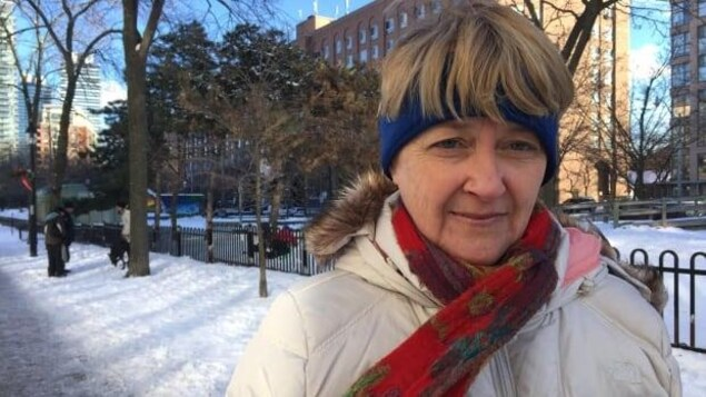 Street nurse Cathy Crowe says evicting inhabitants of the makeshift encampments is callous and the city is not doing a good job of providing adequate shelter for the homeless, especially during winter. (Laura DaSilva/CBC)
