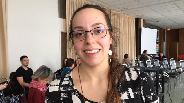 Celeste Contant-Rodriguez à l'Université Laurentienne