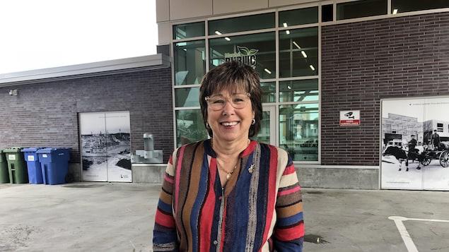 Céline Brindamour après avoir annoncé qu'elle sollicitera un mandat à la mairie de Val-d'Or.