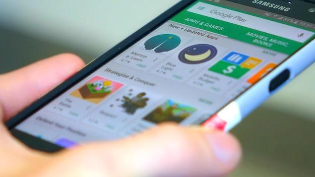 Une page du magasin Google Play affichant plusieurs jeux gratuits