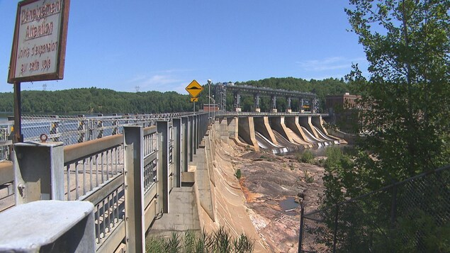 Le barrage hydroélectrique de La Gabelle