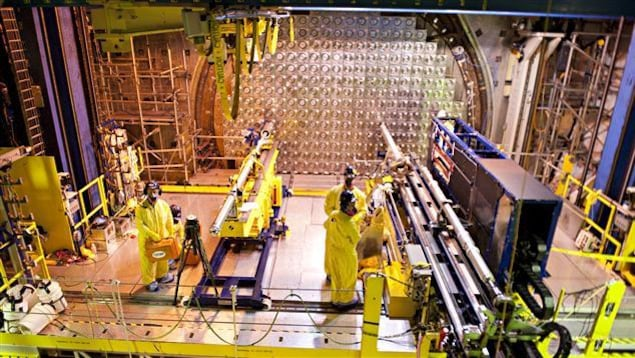 Des travaux de remise à neuf à la centrale nucléaire de Point Lepreau