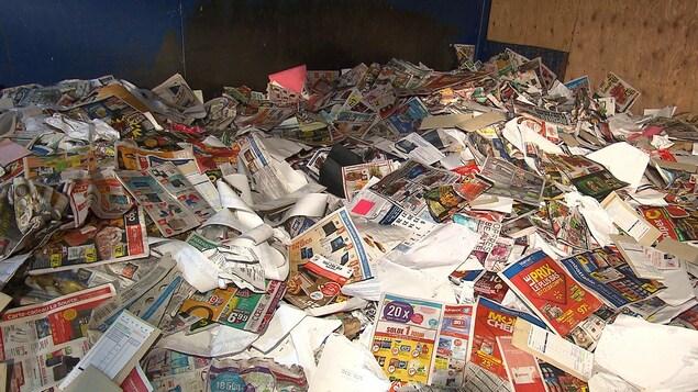 Du papier journal