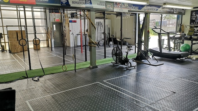 Une salle de sport