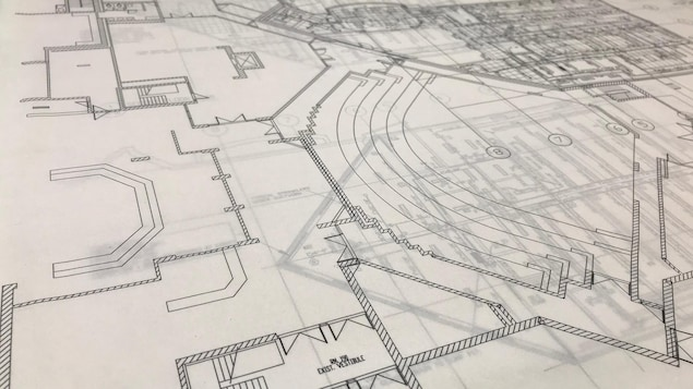 Plan de construction du Centre du Patrimoine