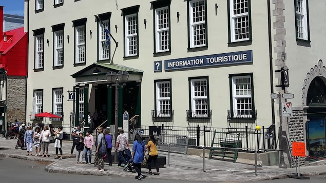 Le Centre Infotouriste situé dans le Vieux-Québec
