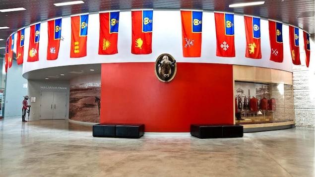 L'entrée de la salle Héritage au Centre du patrimoine de la GRC à Regina.
