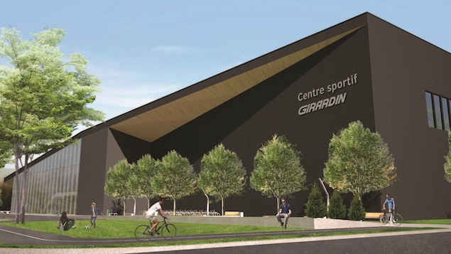 Illustration du futur Centre sportif Girardin de Drummondville.