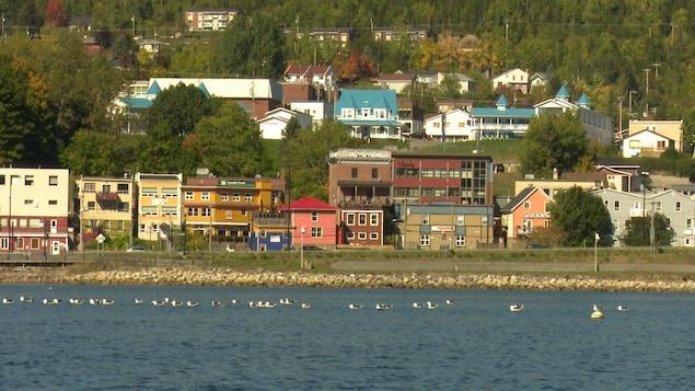 Centre-ville de Gaspé