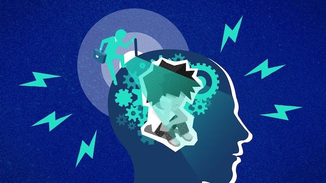 Le TDAH n'a rien à voir avec l'intelligence. C'est plutôt une question de régulation et d'inhibition comportementale, motrice et verbale.