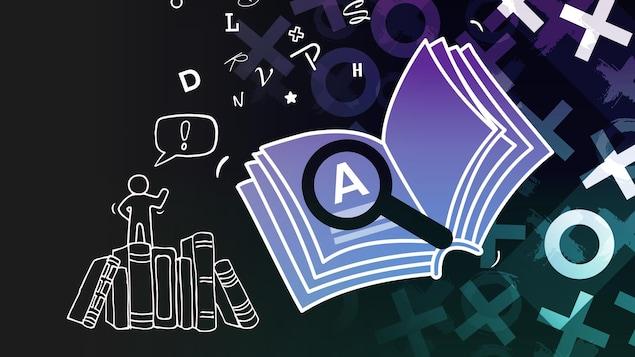Illustration de dictionnaires.