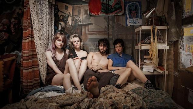 Les quatre personnages du film «Ceux qui font les révolutions à moitié n'ont fait que se creuser un tombeau»