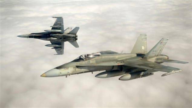 Des avions CF-18