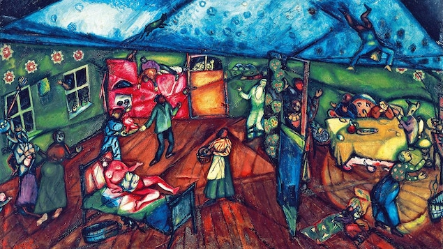 Marc Chagall, «La Naissance», 1911-1912