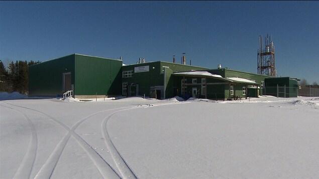 L'usine Chaichem est à vendre, mais la Ville d'Amqui espère la relancer