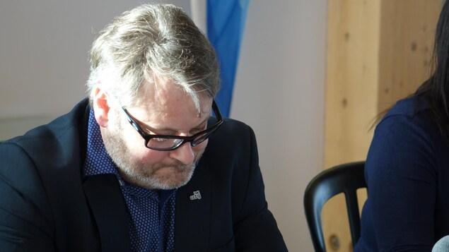 Le directeur de la Chambre de commerce et de tourisme de Gaspé, Oliver Nolleau