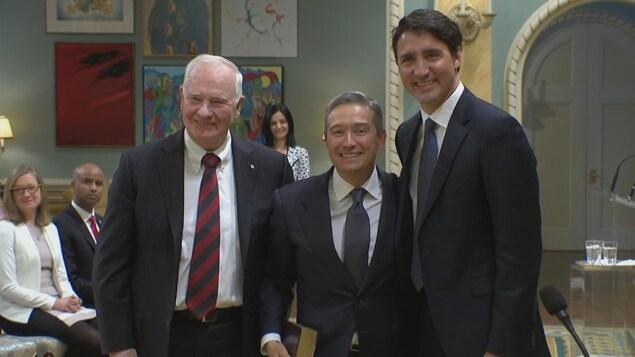 François-Philippe Champagne nommé ministre du Commerce international, le 10 janvier 2017