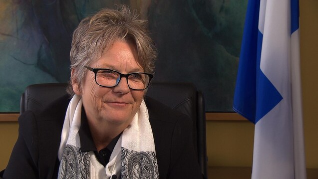 Mme Rouleau, en entrevue à Radio-Canada.