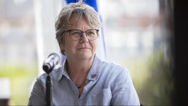 La ministre Chantal Rouleau.