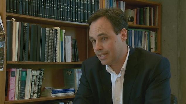 Charles Bellemare, professeur titulaire au département d'économique de l'Université Laval