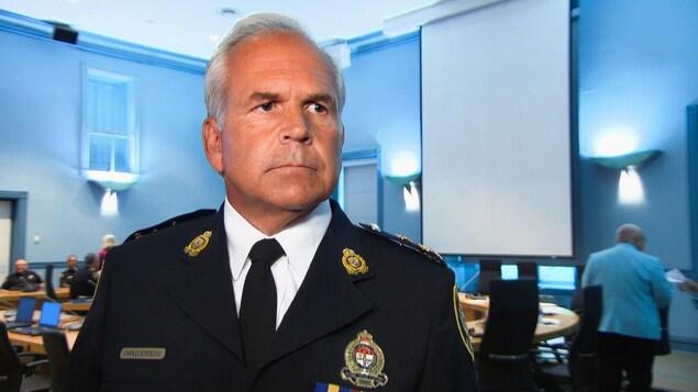 Le chef de la police d'Ottawa.