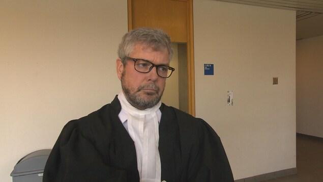 L'avocat Charles Cantin