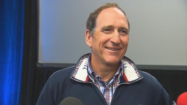 Charles Désourdy, président-directeur général de Ski Bromont