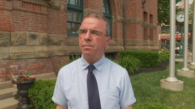 Le maire de Charlottetown, Philip Brown.