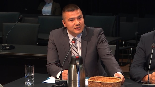 Constant Awashish, grand chef du Conseil de la Nation Atikamekw
