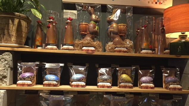 Pâque au Gisement bistro-chocolaterie de Rouyn-Noranda