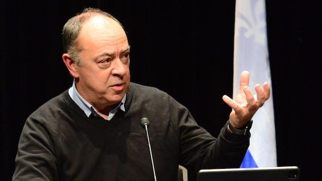 Christian Dubé.