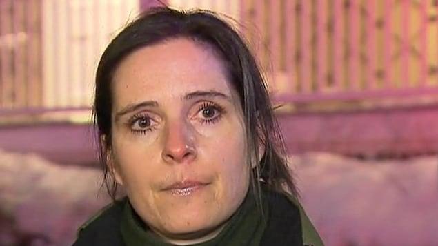 Christine Coulombe de la Sûreté du Québec