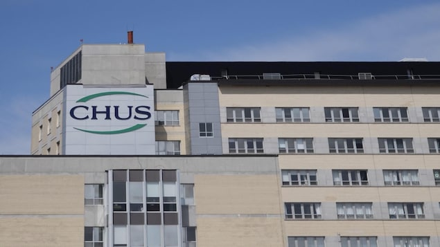 Vue extérieure du CHUS-Fleurimont