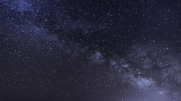 La Voie lactée vue du sol