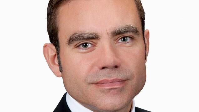 Le PDG de Ciment McInnis, Hervé Mallet
