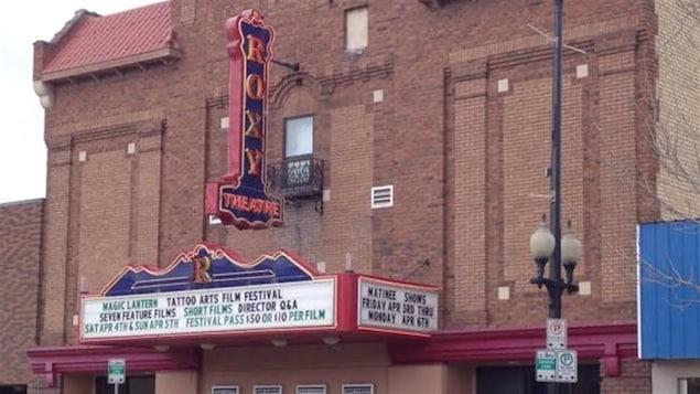 Le cinéma Roxy, dans le quartier Riversdale, à Saskatoon.