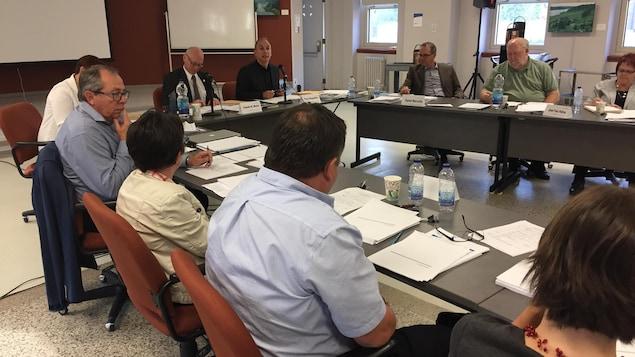 Le conseil d'administration du Centre intégré de santé et de services sociaux de l'Abitibi-Témiscamingue (CISSS-AT)