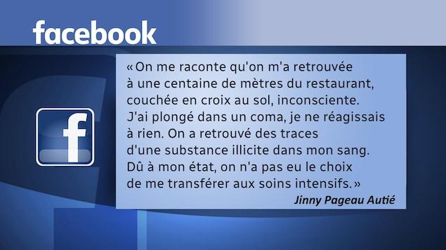 Une femme de Trois-Rivières raconte, dans une longue publication Facebook, avoir été victime d'une intoxication involontaire dans un restaurant du centre-ville.