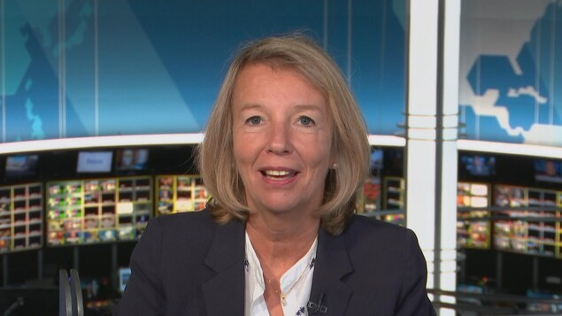 Claire Harvey, porte-parole du Conseil québécois sur le tabac et la santé